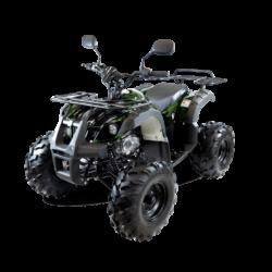 Подростковый квадроцикл бензиновый MOTAX ATV Grizlik 7 125 cc зеленый камуфляж (электростартер, длинноходная подвеска, до 65 км/ч)